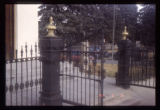 Russian Orthodox Church, Transfiguration of Christ iron fence
