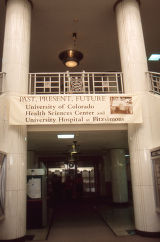 Fitzsimons General Hospital Main Hospital Building ground floor lobby