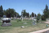 Graves at Riverside Cemetery