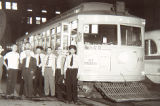 Denver Tramway Company Streetcar #.04 employees