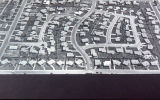 Aerial view of the Arapahoe Acres Subdivision