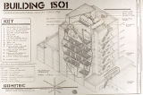 Rocky Mountain Arsenal building 1501 schematic plan