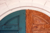 St. Patrick Mission Church doors