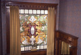 Schlessinger House stained glass window