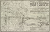 Union Pacific and Utah & Northern through rail route to Montana and Yellowstone Park.