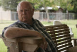Former Coushatta Sheriff Buddy Huckabay (CQ) sits on the back porch of his Coushatta, La., home...