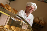 KAS032 Ronny Tronoe (cq) poses for a portrait at his Taste of Denmark bakery in Lakewood, Colo. on...