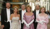 "Le Bal de Ballet, a presentation of debutantes and ""Young Men of Distinction,"" at..."