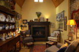 (DENVER, Colo., June 30, 2004)  A cozy sitting area in Deborah Kershaw's house just off the...