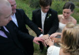 David Welsh, cq, guitarist with the Colorado based rock band The Fray, married Janelle Czopek, cq,...