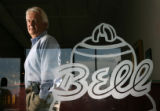MJM1323  Larry Bell (cq), chairman and owner of Bell Plumbing and Heating was forced to move the...