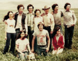 Ken Salazar was 20 when he and his family gathered for an impromptu picture after stopping work...