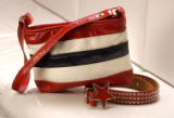 (Denver, Colo. June 24, 2004)   Stars and stripes fashion at Lotus.  (photo by ELLEN JASKOL/ROCKY...