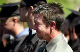 (Golden, Colo., May 7, 2004)  Jack Sayers cries as he hears a his brother's Ryan Sayers Memorial...