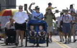 (DENVER, CO., June 27, 2004)  The Grand Marshals, gay and lesbian parents and families with...