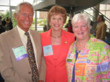 Metro Volunteers Heart of Volunteerism Award Presentation - From left, Gordon and Sally Rippey,...