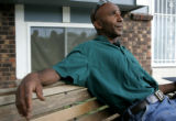 Sitting in front of his Longmont home Tuesday evening August 15, 2006, Gill Dwayne Smith denies...
