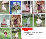 Photos of JonBenet Ramsey offered by Sygma
