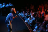 Denver comedian and winner of NBC's Last Comic Standing Josh Blue performs at the Gothic Theatre...