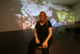 An artist named Jennifer Steinkamp,  is in town installing a video projection piece the Denver Art...