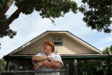 MJM410  Standing outside her Englewood, Co. home, Pauline Zuke (cq) is the mother of 15 year old,...