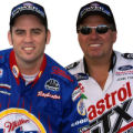 Larry Dixon and John Force