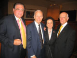 University of Denver Korbel Dinner, August 15, 2006 - From left, Korbel Dinner patron Jerry...