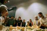 The general public had their first opportunity to view a wooden model of the planned renovation of...