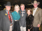 Coors Western Art Exhibit & Sale 2006. From left, 2006 Coors Western Art Exhibit & Sale...