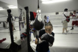 (NYT47) SANTA FE, N.M. -- Jan. 17, 2006 -- NM-FEMALE-BOXER  Monica Lovato, a professional fighter...