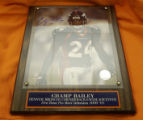 A Champ Bailey signed and framed photo is $75. It's time to get your missing Bronco Fever...