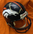 A Jake Plummer autographed helmet, $350. It's time to get your missing Bronco Fever merchandise...
