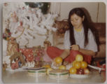 Aurora, Co.  5/1/04/04. Cambodia copy photo.   Randa Lee's first Christmas in the U.S.   (1981? ...