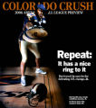 Colorado Crush wide receiver and defensive back Willis Marshall. Marshall will be key to the Crush...