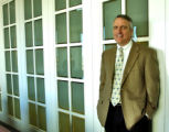 Bill Ritter in the office of Hogan & Hartson in the Tabor Center office building Thursday...