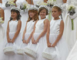 Debutantes presented on the University of Denver campus in Denver, Colo., on Saturday, July 17,...