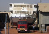 (NYT67) KHARTOUM, Sudan -- Feb. 1, 2006 -- SUDAN-YACHT -- The $4.5 million yacht, Al Qasr, as it...