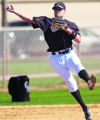 Jamey Carroll making a throw during practice Saturday February 25, 2006 in Tucson Arizona. The...