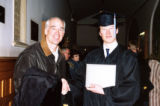 John Fielder with his son, John Fielder III, at his CU Boulder graduation. John Fielder III was 23...