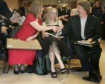 Shannon Ransick, left, wife of newly named Poet Laureate of Denver Chris Ransick (cq), right,...