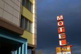 The All Inn Motel, located at Colfax and Milwaukee. Photo by TODD HEISLER/ROCKY MOUNTAIN NEWS