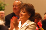 Charlevoix County, MI, May 7, 2004--Patsy and John Ramsey attend the Charlevoix County Republicans...
