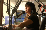 KBUENO Radio show host Claudia Reyes, during her Afternoon Drive Show Monday March 27, 2006 in...