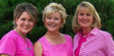 Peggy Littleton of Colorado Springs (left), Amy Stephens (CQ) of Monument (center), and Cindy...