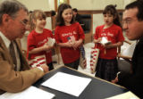 On March 16, 2006, Legislators welcomed the Liberty Day Kids to the capitol for an annual...
