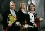 In Denver, Colo. March 21, 2006, Jefferson Award winners Damien Mulvany (cq) who is a dentist and...