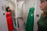 Prom Fashion on March 30, 2006 at FlatIron Crossing.  Ashley Patterson, (cq)  18, from Hudson,...