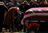 The funeral for Sgt. Gordon Misner, killed in Iraq, was held at Evergreen Cemetary Saturday, March...