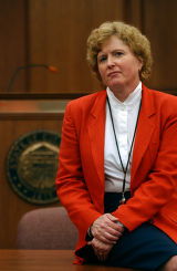(ARAPAHOE COUNTY, Co., SHOT 7/28/2004) Carol Chambers, candiate for District Attorney for the 18th...