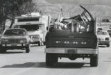 Many people, like th owner of this truck , packed up and left Parachute Monday. 5/3/1982 Owner of...